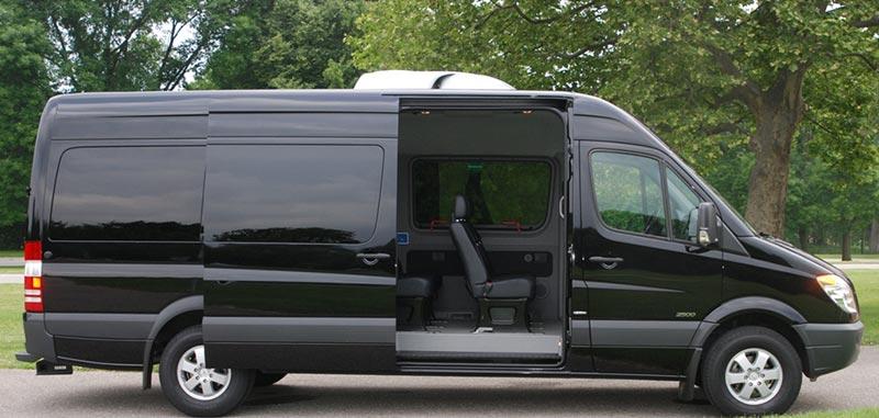 12 Passenger Mercedes Sprinter Van