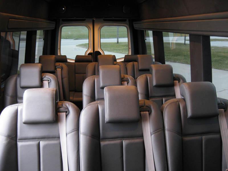 15 Passenger Luxury Mercedes Sprinter Van on 13 Passenger Mercedes Sprinter Luxury Van